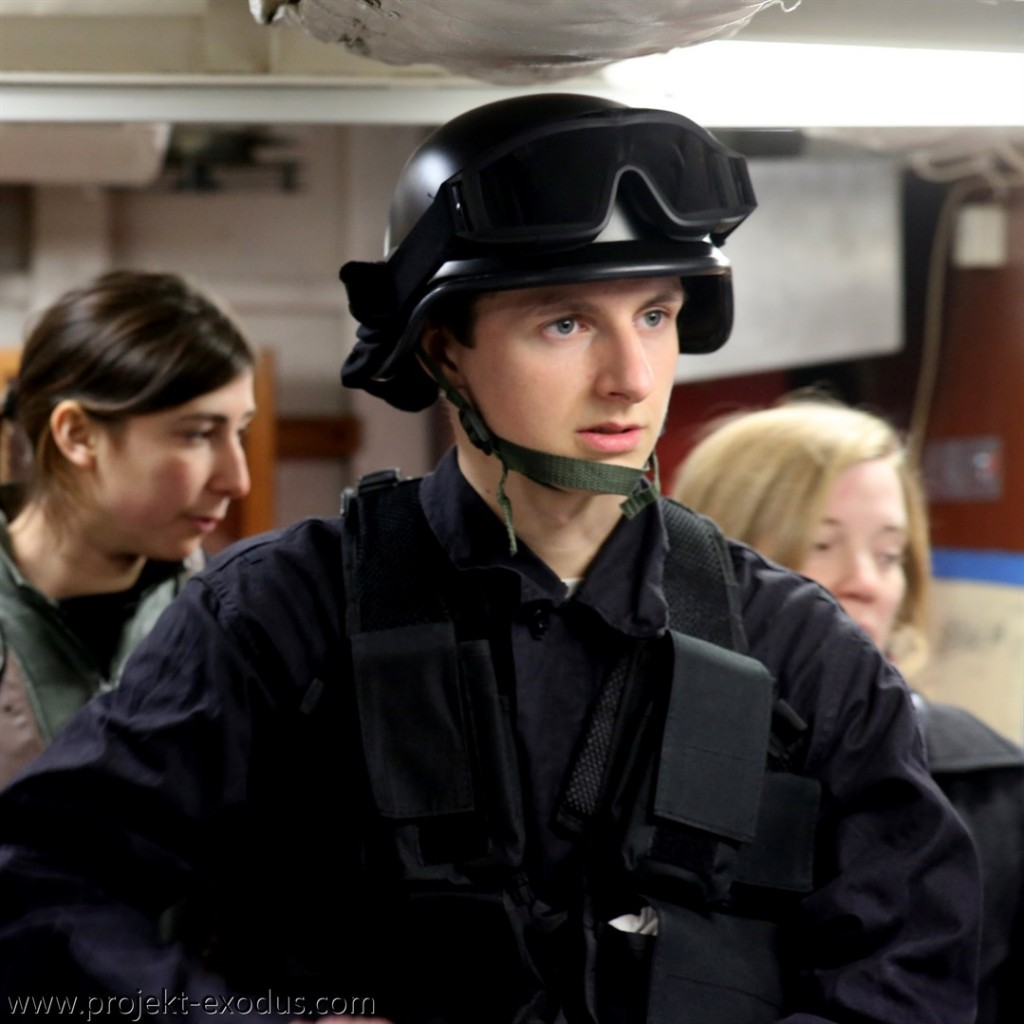 Marine in den Crewquatieren